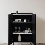 Cabinet FORST - marbre blanc 3
