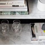 Cabinet FORST - marbre blanc 5