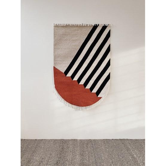 Tapisserie RAAG Kilim - laine - Design : Un'common