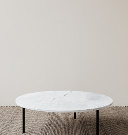 GRUFF Coffee Table - White marble