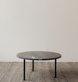 Table basse GRUFF - marbre gris