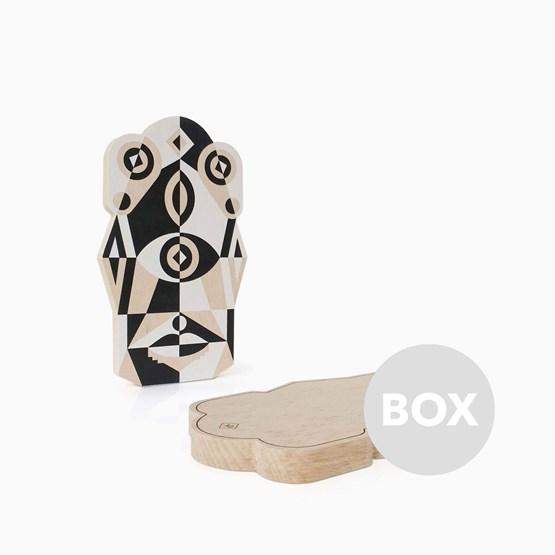 Planche à Découper TOTEM - Box 37 - Design : Leslie David