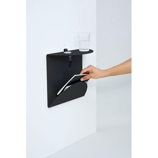 Table de chevet PV04 - Noir - Design : Pierre Vano