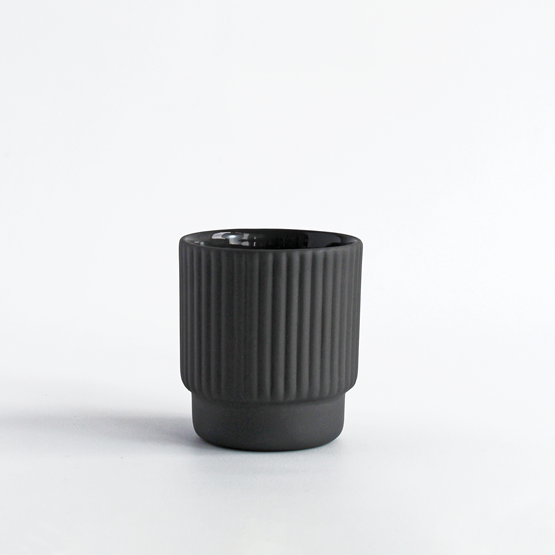 Espresso cup | 60 ml | Gris anthracite - Design : Archive Studio