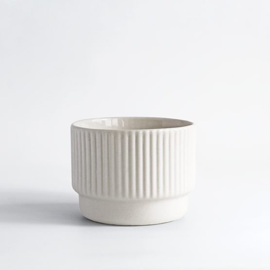 Cappuccino cup | 120 ml | blanc - Design : Archive Studio
