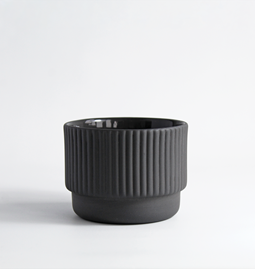 Cappuccino cup | 120 ml | gris anthracite