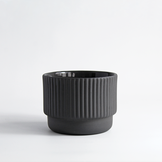 Cappuccino cup | 120 ml | dark grey - Design : Archive Studio