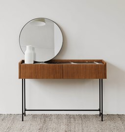 FORST Console Table - black marble