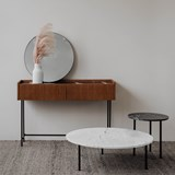 FORST Console Table - black marble  3