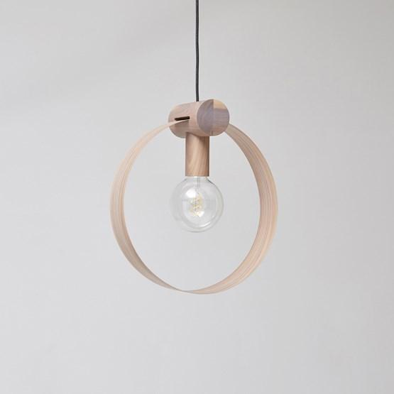 GRAVITÉ pendant light - US Walnut - Design : Hetch