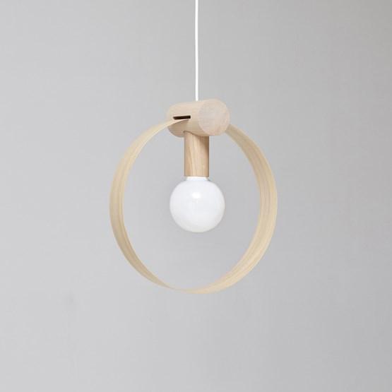 GRAVITÉ pendant light - Oak - Design : Hetch