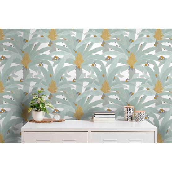 ARMAND Wallpaper -  white  - Design : Tenue de Ville