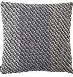 Charcoal Cushion - Grey