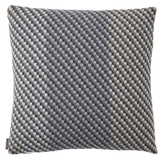 Charcoal Cushion - Grey - Design : Claire Gaudion