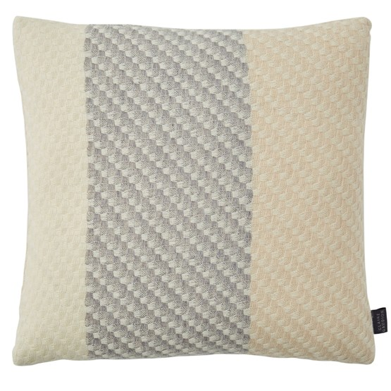 Ecru Cushion - Design : Claire Gaudion