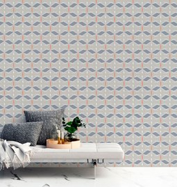Carrousel Wallpaper - grey
