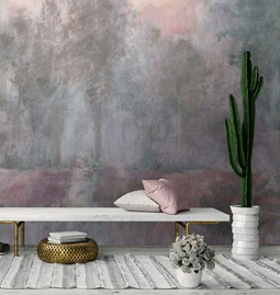 Echo Wallpaper - pink toscana