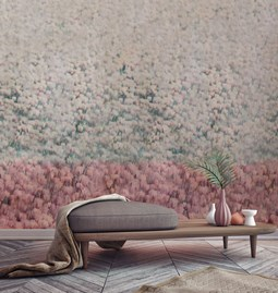 Gloria Wallpaper - red toscana
