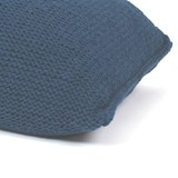 Knitted woolen bean bag - blue 5