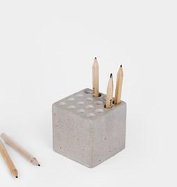 Porte stylos - béton