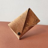 Porte-monnaie en cuir de liège naturel made in France 3