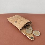 Pouch wallet natural cork 5