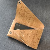 Pouch wallet natural cork 6