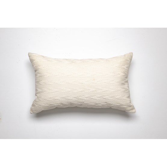 Coussin ANDREA - blanc - Design : Coutume