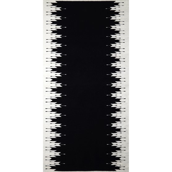 TEOTITLAN Rug - Black - Design : Coutume