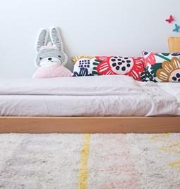Children's bed MIAUBAU - beech