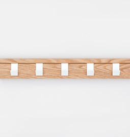 Coat rack 45 - oak
