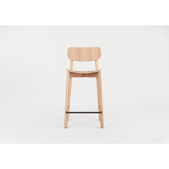 OTIS Bar Chair - Oak - Design : John Green