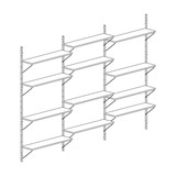 Bookcase ALBA - oak 10