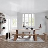 Bookcase ALBA - oak 9