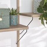 Bookcase ALBA - oak 5