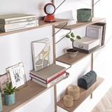 Bookcase ALBA - oak 7