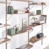 Bookcase ALBA - oak 8