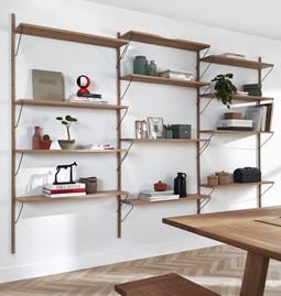 Bookcase Alba - oak