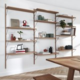 Bookcase ALBA - oak 2