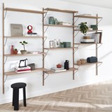 Bookcase ALBA - oak 3