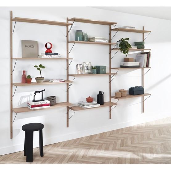 Bookcase ALBA - oak - Design : Formel Studio