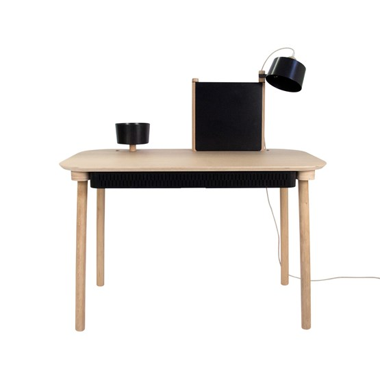 BUREAU COMPLET by Adèle - Black - Design : Dizy