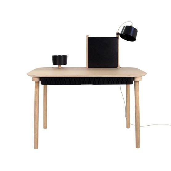 BUREAU COMPLET by Adèle - Noir - Design : Dizy