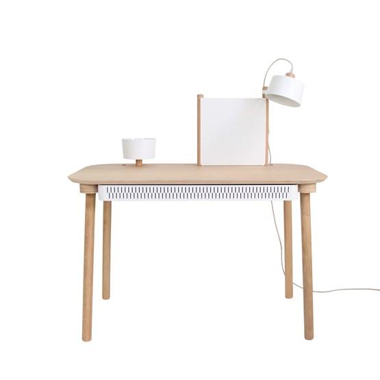 BUREAU COMPLET by Adèle  - Blanc - Design : Dizy
