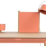 BUREAU COMPLET by Adèle  - Powder pink 4