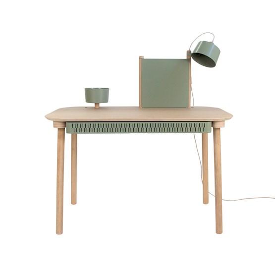 BUREAU COMPLET by Adèle  - Grey green - Design : Dizy