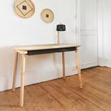 Bureau, tiroir & lampe by désiré - Noir 4
