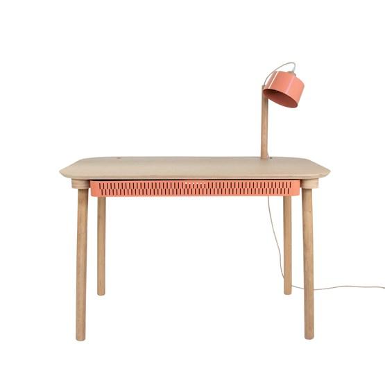 Bureau, tiroir & lampe by désiré - Powder pink - Design : Dizy