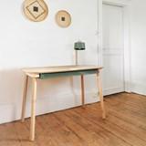 Bureau, tiroir & lampe by désiré - Vert de gris 4