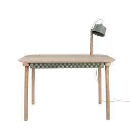 Bureau, tiroir & lampe by désiré - Vert de gris